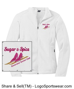 Official SNS Uniform Fleece Design Zoom