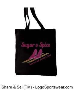 SNS Tote Bag Design Zoom